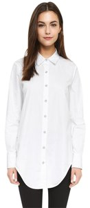 Rag & Bone Button Down Shirt white