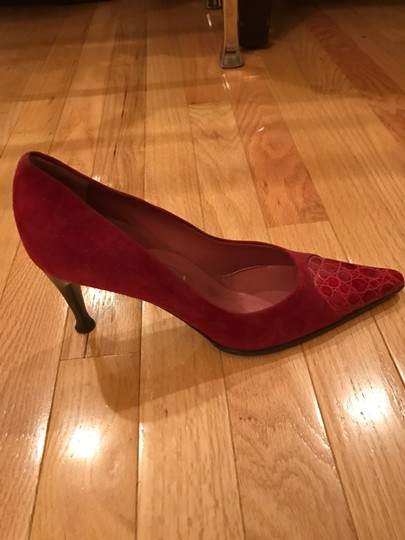 Sergio Rossi Red/Wine Pumps Image 1