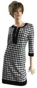 Isabella DeMarco Houndstooth Eclectic Bold Dress