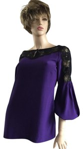 Tory Burch Top Purple/Black