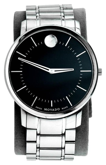 Preload https://img-static.tradesy.com/item/21346374/movado-stainless-steel-thin-classic-0606687-watch-0-1-540-540.jpg