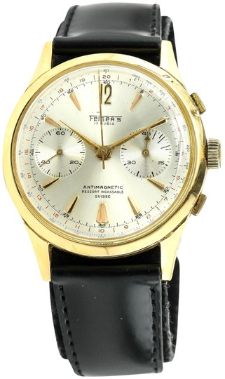 Preload https://img-static.tradesy.com/item/21346405/18k-yellow-gold-1950-antique-chronograph-watch-0-4-540-540.jpg