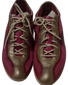 Cole Haan fushia and silver Athletic