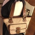 XOXO Satchel in tan/brown Image 5