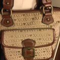 XOXO Satchel in tan/brown Image 8