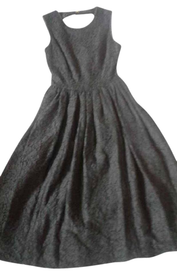 b924a75748c Kate Spade Black (Nwt) Madison Ave Rena Mid-length Formal Dress Size ...
