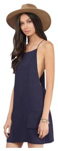 Tobi short dress Navy Coachella Daydress Summer Bohemian Opensides on Tradesy