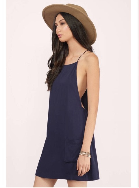 Tobi short dress Navy Coachella Daydress Summer Bohemian Opensides on Tradesy Image 2