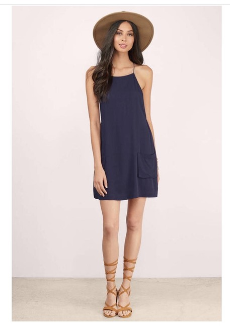 Tobi short dress Navy Coachella Daydress Summer Bohemian Opensides on Tradesy Image 3