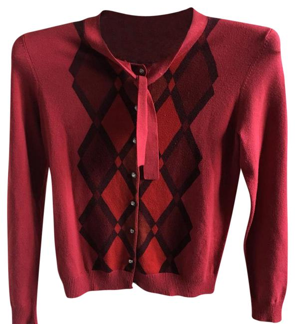 Preload https://img-static.tradesy.com/item/21347151/bogari-red-tie-over-cardigan-size-8-m-0-2-650-650.jpg