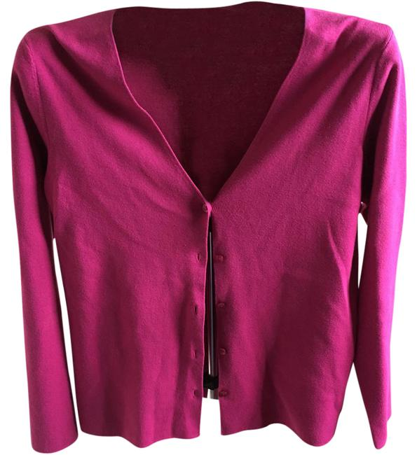 Preload https://img-static.tradesy.com/item/21347189/hampshire-studio-pink-15510-cardigan-size-12-l-0-1-650-650.jpg