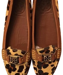 Tory Burch Cheetah Print Calf Hair Flats
