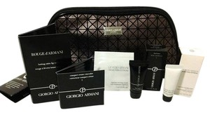 Giorgio Armani Makeup Bag & Beauty Items