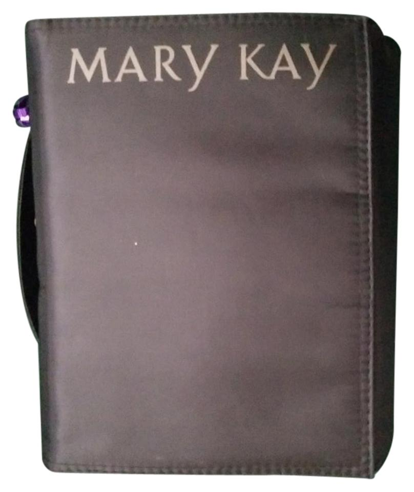 afda4a71478b Mary Kay Black Travel Roll-up Cosmetic Bag 8% off retail