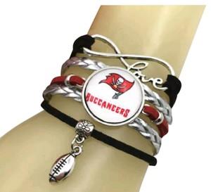 Other Tampa Bay Buccaneers Infinity Charm Bracelet