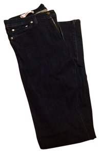 Red Engine Boot Cut Jeans-Dark Rinse