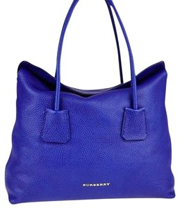 Burberry Tote in COBALT