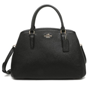Coach Leather Nwt Margo Satchel in Black