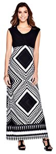 Black/White Maxi Dress by Tiana B.