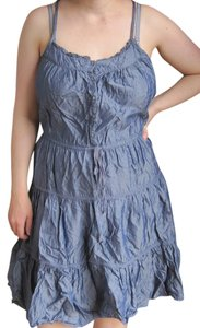 DKNY short dress Ruffle Line on Tradesy