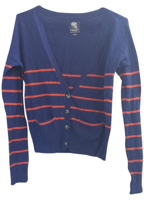 Preload https://item3.tradesy.com/images/american-eagle-outfitters-bluered-stripe-cardigan-size-4-s-2134882-0-0.jpg?width=400&height=650