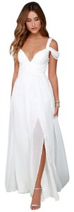 Lulu*s Wedding Reception Casual Bride Beach Bride Dress