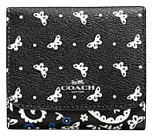 Coach Coach SMALL WALLET IN BUTTERFLY BANDANA PRINT F 59725