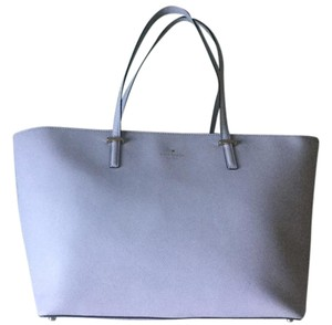 Kate Spade Medium Tote in Dove grey / grey white