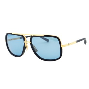 e90055258cd5 Dita New DITA Mach One DRX-2030 Navy 18K Gold Titanium Aviator Sunglasses