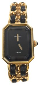 Chanel Vintage Chanel Gold Premiere Watch Size M