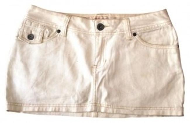 Mossimo Supply Co. Mini Skirt White