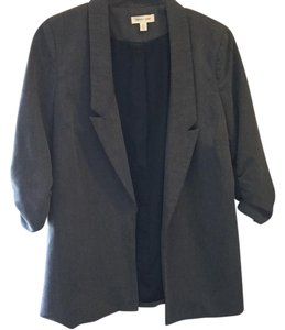 Silence + Noise Charcoal Grey Blazer