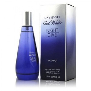 davidoff COOL WATER NIGHT DIVE BY DAVIDOFF-MADE IN FRANCE