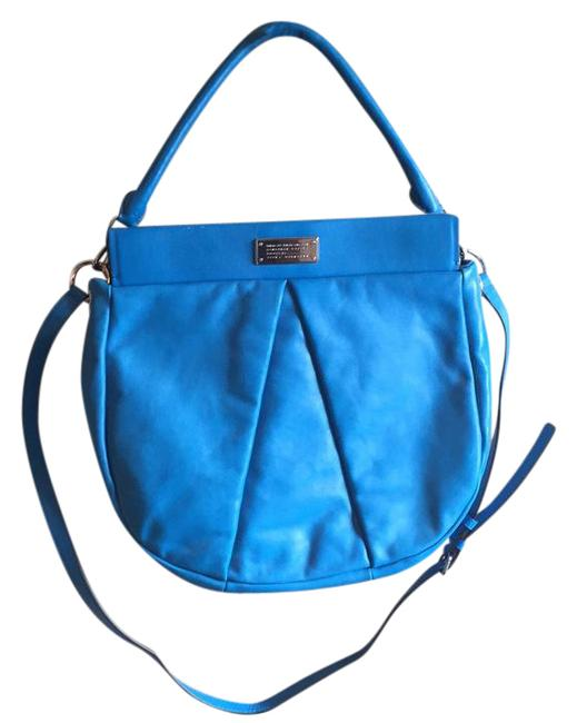 Item - Marchive Hilli Blue Glow Leather Hobo Bag