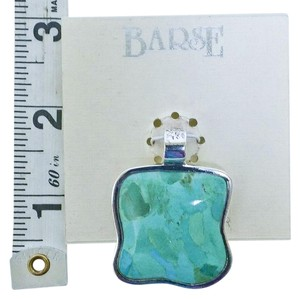 Barse Barse Turquoise and Sterling Silver Slider