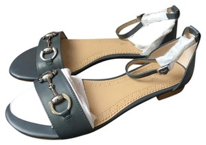 Brooks Brothers navy blue/grey Sandals