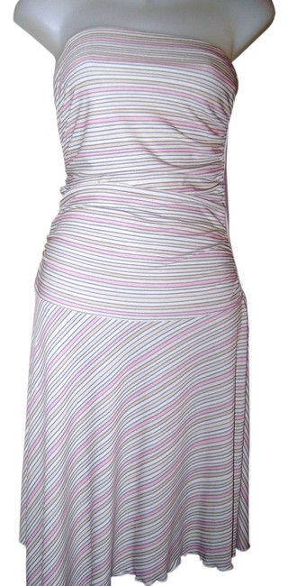 Ruby Rox Multi Color Stripes Party Date Nite Girls Knee Length Night Out Dress Size 4 (S) Ruby Rox Multi Color Stripes Party Date Nite Girls Knee Length Night Out Dress Size 4 (S) Image 1