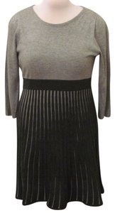 Calvin Klein Fit And Flare Work Business Causal Knit Fast Shipping Dress