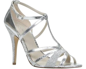ALDO Pumps Strappy Heels Silver Sandals