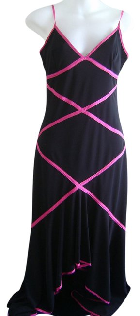 Preload https://img-static.tradesy.com/item/2135064/taboo-black-with-magenta-trim-party-prom-girls-date-long-night-out-dress-size-8-m-0-0-650-650.jpg