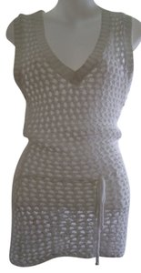 Sweater Project short dress White Summer Party Club Wear on Tradesy