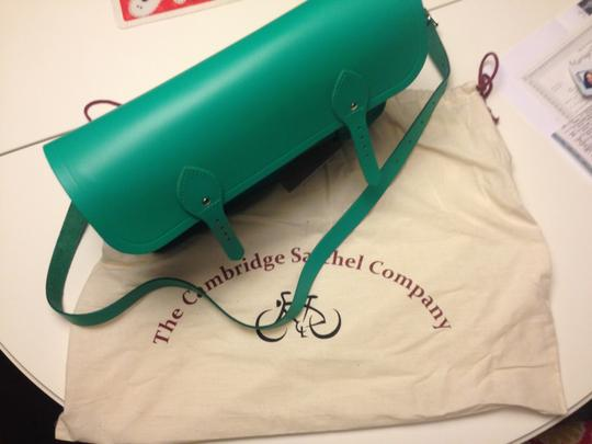 The Cambridge Satchel Company Messenger Satchel in green