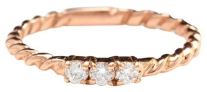 Other Splendid .15 Carats Natural Diamond 14K Solid Rose Gold Ring