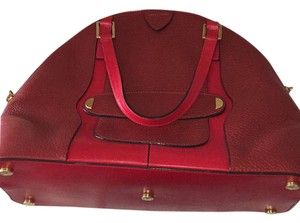 Marc Jacobs Tote in maroon and red