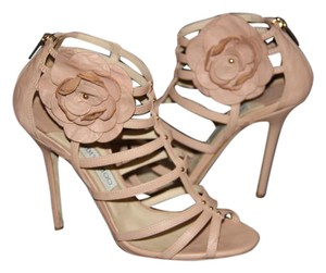 Jimmy Choo Pink Nude Sandals