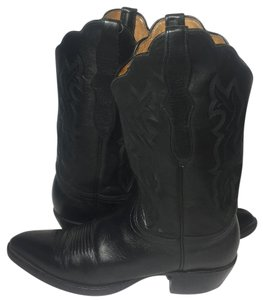 Lucchese Cowgirl Size 10 Sz 10 Cowgirl 10 Women Size 10 Black Boots
