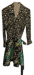 Diane von Furstenberg short dress Black/multi on Tradesy