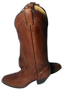 Justin Size 7 Women Size 7 Cowgirl Size 7 Brown Boots