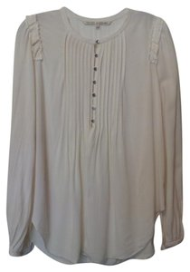 Rachel Roy Oversized Long Henley Medium Tunic