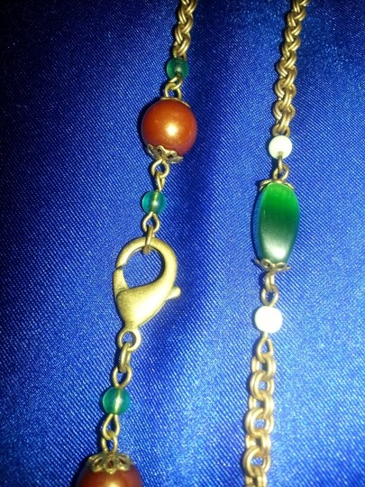 Other Long Bronze Chain necklace